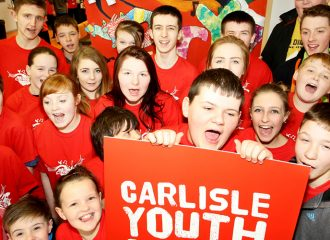 PCC Meets Mentoring Volunteers at Carlisle Youth Zone
