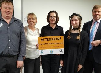 Commissioner Attends Launch of Triple A Project Autism DVD