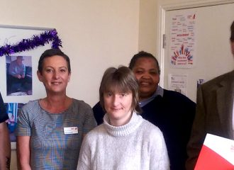 Cumbria Police & Crime Commissioner visits Turning Point mental health service