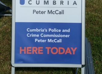 Commissioner Holding Public Surgery in Alston Library 28 June