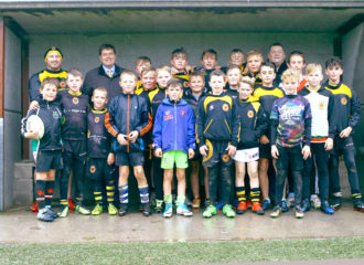 Police and Crime Commissioner Meets Wath Brow Hornets