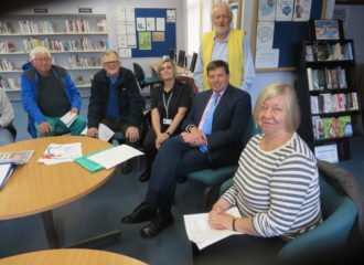 Police and Crime Commissioner Meets Aspatria Local Partnership
