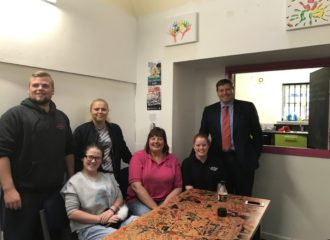 Police and Crime Commissioner Listens to Youngsters' Concerns in Wigton