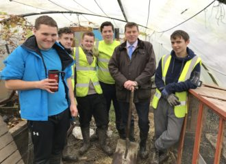 PCC Visits Garden Life Community Project