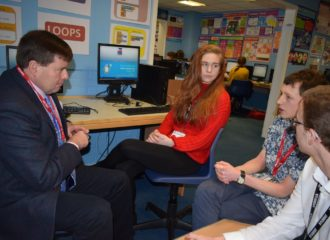 Commissioner Visits Cockermouth School – Safer Internet Day 2018