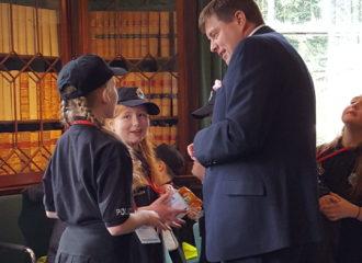 Commissioner and Cumbria Constabulary Launch 'Mini Police'