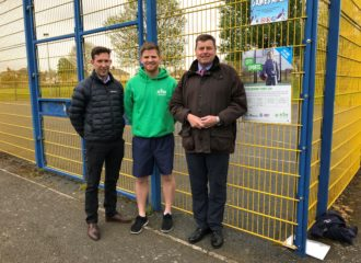 Commissioner Supports City Sports Project In Carlisle