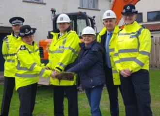 Works Starts on Construction of Eden Police Deployment Centre