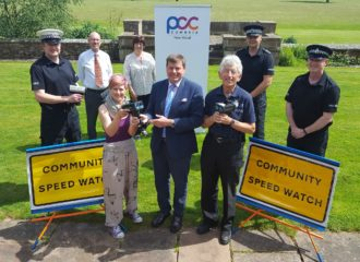 Commissioner Funds Community Speed-Watch Laser Devices