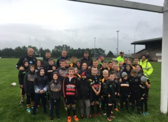 Commissioner Supports Aspatria Hornets Junior Rugby Club