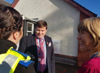Commissioner Visits Sir John Barrow School, Ulverston Ahead of Anti-Bullying Week