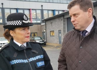 Commissioner and Chief Constable Launch  Safer Driving Campaign
