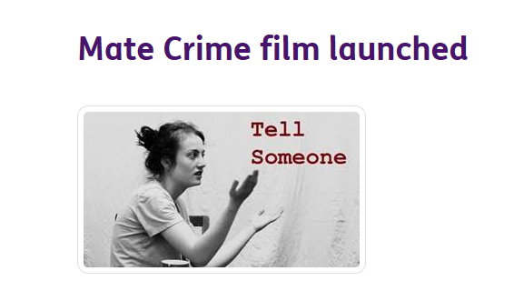 Commissioner Supports Carlisle Mencap's Independence Studio 'Mate Crime' Film Launch During Hate Crime Week