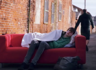 Homelessness video created to highlight the dangers of becoming homeless
