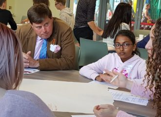 Peter McCall's Meets With The Youth Commission