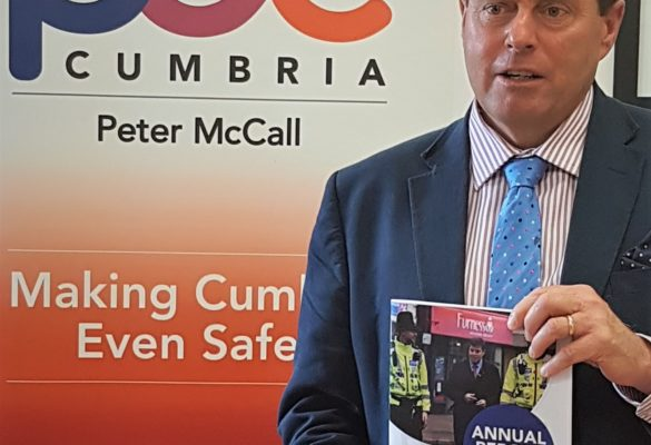 Cumbria's Police and Crime Commissioner Launches 3rd Annual Report