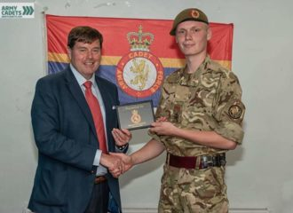 PCC becomes Honorary Colonel for Cumbria's Army Cadets