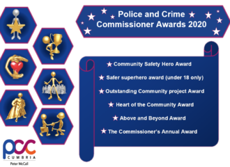 Nominations for Police and Crime Commissioner Community Awards Open