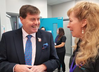 Commissioner Officially Declares the 'Women Out West' Centre Open
