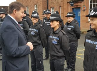Peter McCall Meets the First 36 Recruits of Operation Uplift