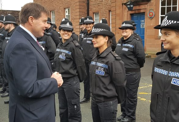 Peter McCall Meets First 36 Recruits of Operation Uplift