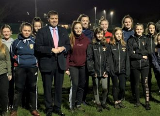 Property Fund Supports Girls Youth Teams at Netherhall Rugby Club, Maryport.