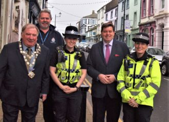 Commissioner Supports Maryport Council with Additional CCTV