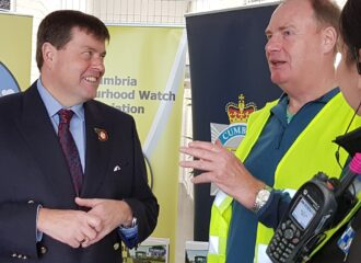 Commissioner Thanks Everyone Involved in Neighbourhood Watch