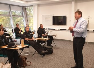 PCC meets new recruits during their final days of training