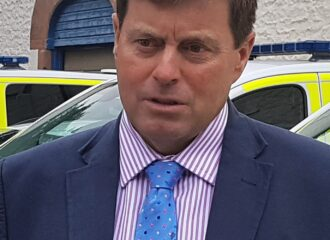 PCC attends warrant visit with Cyber and Digital Crime Unit