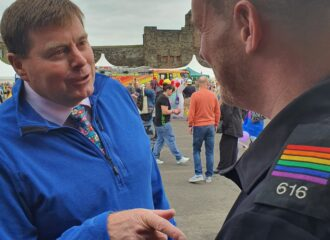 Commissioner Continues to Support Pride